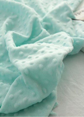Minky Dimple Dot - Mint - By the Yard 43233 Melody Series
