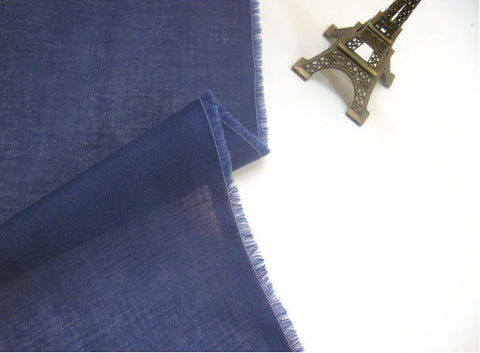 Cotton Gauze - Cobalt Blue - 59
