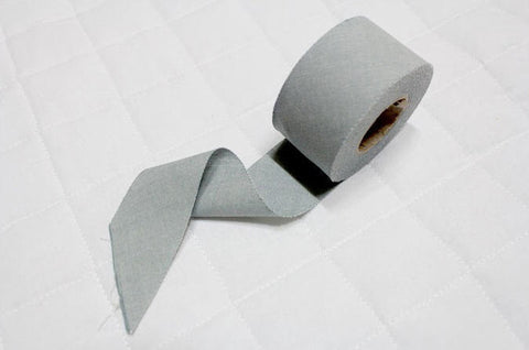 4 cm Cotton Bias - Light Grey - 12 Yard roll 86701