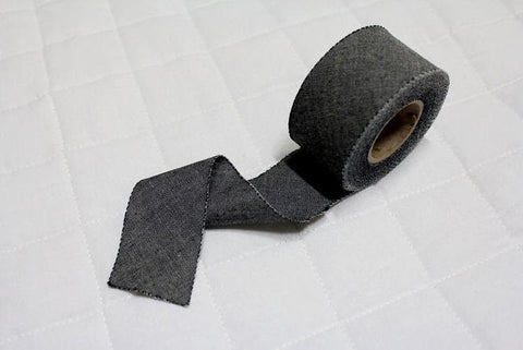 4 cm Cotton Bias - Black - 12 Yard roll 86702