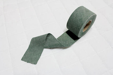4 cm Cotton Bias - Dark Green - 12 Yard roll 86708