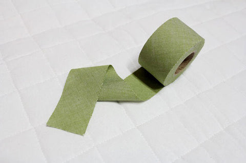4 cm Cotton Bias - Green - 12 Yard roll 86975