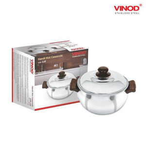 VInod Stainless Steel Handi Hot Casserole with Lid