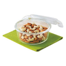 Load image into Gallery viewer, Borosil Klip N Store Glass Food Container ( round ) - Gogia bartan store