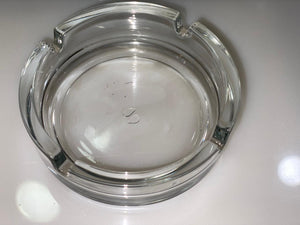 GLASS ASH TRAY BIG - Gogia bartan store