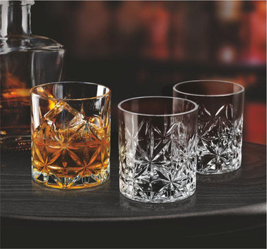 TREO EDRIC WHISKEY GLASS 340ML (6PCS SET) - Gogia bartan store