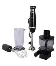 Load image into Gallery viewer, BOROSIL MASTER BLEND BHB60PSB11 600-WATT HAND BLENDER (BLACK) - Gogia bartan store