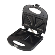 Load image into Gallery viewer, BALTRA SERVE SANDWICH MAKER (BLACK) 750 WATT - Gogia bartan store