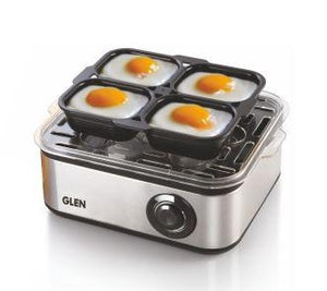 GLEN 3036 EGG BOILER 500 WATT WITH 3 WATER LEVELS - Gogia bartan store