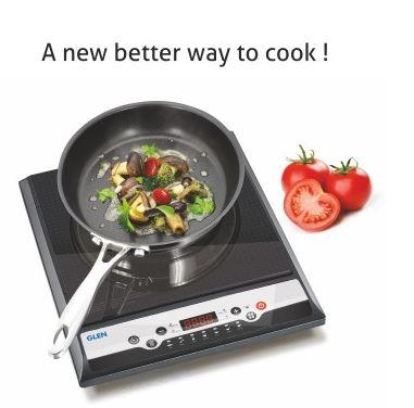 GLEN 3070 EX INDUCTION COOKER 1400 WATT WITH PRE-SET COOKING FUNCTIONS - Gogia bartan store
