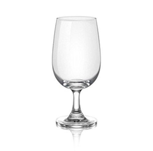 OCEAN WATER GOBLET WINE GLASS SET, 345ML, SET OF 6 PCS - Gogia bartan store