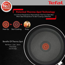 Load image into Gallery viewer, TEFAL DELICIA NON-STICK FRY PAN, 28CM (GREYISH COAL) - Gogia bartan store