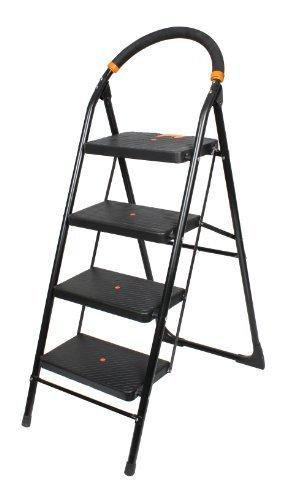 CIPLA PLAST MILANO 4 STEP LADDER, BLACK