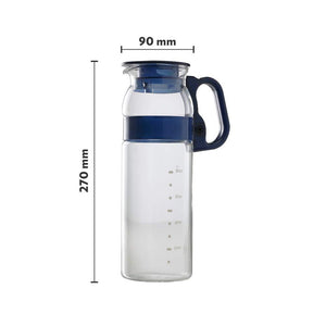 BOROSIL MARINA GLASS JUG, 800ML, TRANSPARENT - Gogia bartan store