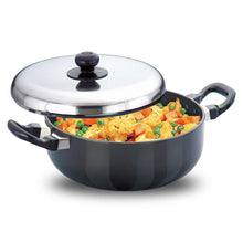 Load image into Gallery viewer, HAWKINS FUTURA NONSTICK ALL PURPOSE FRYING PAN WITH STAINLESS STEEL LID, 3 LITRES, Q78