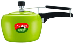 PRESTIGE APPLE ALUMINIUM COOKER, GREEN COLOUR