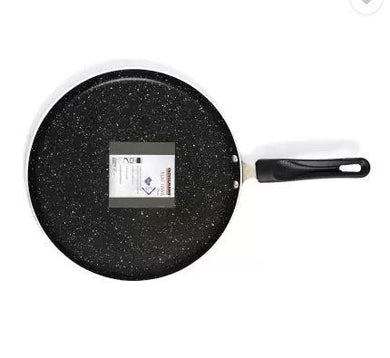 FACKELMANN FLAT TAWA 280 MM (GRANITE RANGE) TAWA 28 CM DIAMETER  (ALUMINIUM, NON-STICK, INDUCTION BOTTOM) - Gogia bartan store