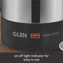 Load image into Gallery viewer, GLEN 9013 ELECTRIC KETTLE, 0.5 LITRE, 1000 W, STAINLESS STEEL