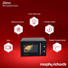 Load image into Gallery viewer, MORPHY RICHARDS 20 LITRE SOLO MICORWAVE OVEN, BLACK - Gogia bartan store