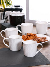 Load image into Gallery viewer, CLAY CRAFT COFFEE MUGS SET, 6 PEICES - Gogia bartan store