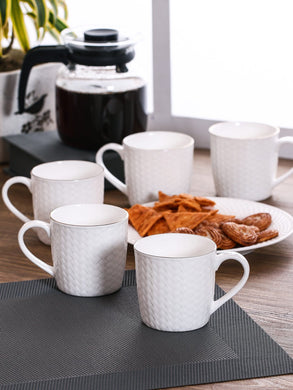 CLAY CRAFT COFFEE MUGS SET, 6 PEICES - Gogia bartan store