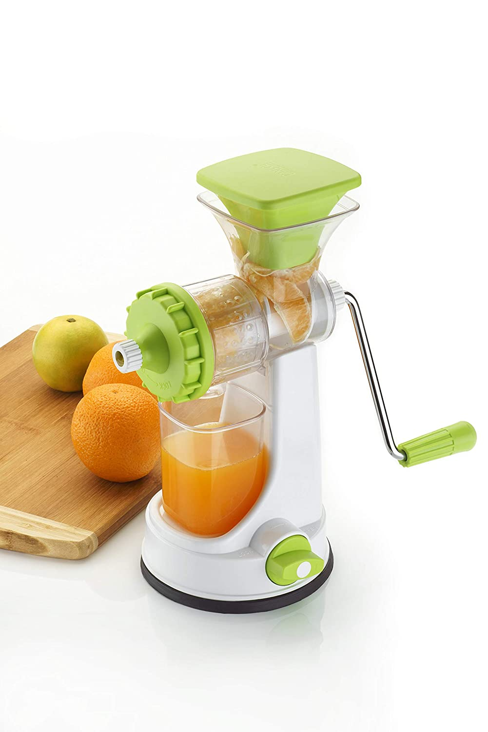 GANESH FRUIT AND VEGETABLE STEEL HANDLE HANDE JUICER - Gogia bartan store