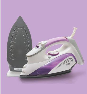 GLEN 8029 STEAM IRON 1800W FRONT JET STEAM ANTI SCALE ANTI DRIP - Gogia bartan store