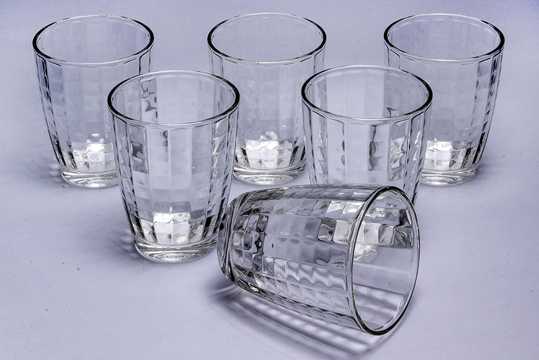 UNION GLASSES, 365ML, SET OF 6 PCS - Gogia bartan store