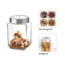 Load image into Gallery viewer, CELLO CUBE FRESH JAR FOR STORAGE KITCHEN CONTAINER - Gogia bartan store