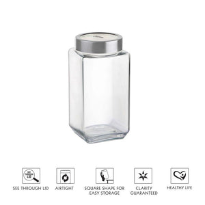 CELLO CUBE FRESH JAR FOR STORAGE KITCHEN CONTAINER - Gogia bartan store