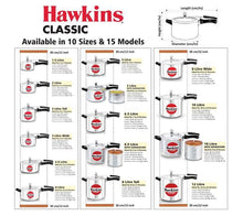 Load image into Gallery viewer, HAWKINS CLASSIC PRESSURE COOKER , ALUMINIUM CL - Gogia bartan store