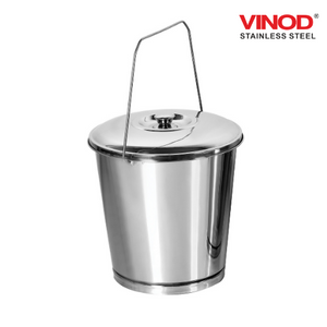 Vinod Stainless Steel Balti with Lid
