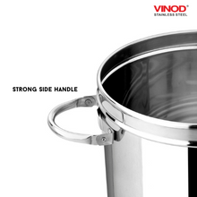 Load image into Gallery viewer, Vinod Stainless Steel Heavy Gauge Ration Dabba with Lid & Side Handle