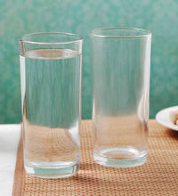 Load image into Gallery viewer, ROXX CLEAR GLASSES, NEWYORK TUMBLERS, SET OF 6 PCS - Gogia bartan store