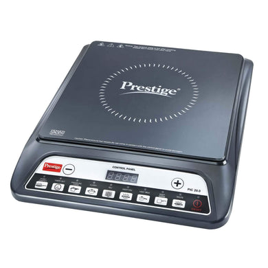 PRESTIGE PIC 20 1200 WATT INDUCTION COOKTOP WITH PUSH BUTTON (BLACK) - Gogia bartan store