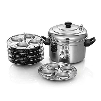 DEVIDAYAL STAINLESS STEEL IDLI COOKER - Gogia bartan store