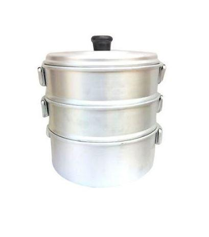 ALUMINIUM MOMOS MAKER / STEAMER FOR HOME (SMALL) - Gogia bartan store
