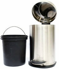 Load image into Gallery viewer, MINTAGE STAINLESS STEEL PEDAL DUSTBIN