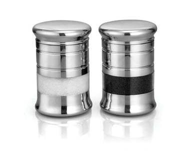 DEVIDAYAL STAINLESS STEEL SEE THROUGH STORAGE CONTAINERS 500 ML , PACK OF 2 PCS - Gogia bartan store