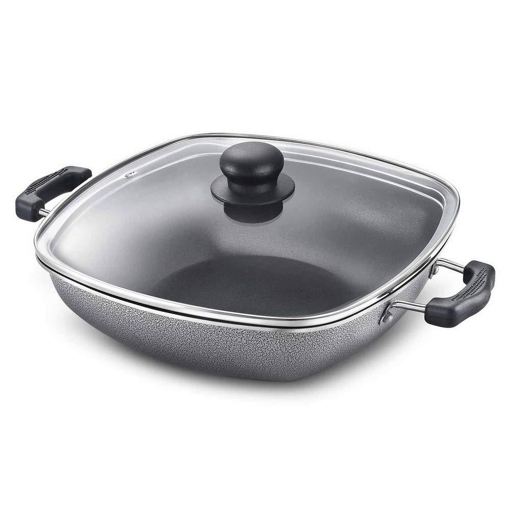 PRESTIGE OMEGA SELECT PLUS SQUARE KADAI 250MM - Gogia bartan store