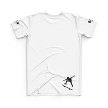 Load image into Gallery viewer, SKATEBOARD JERSEY TOP - WHITE