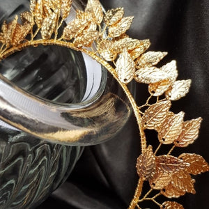 Blake: Gold Leaf Headband