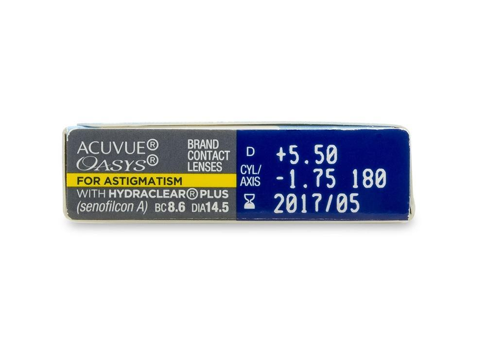 Acuvue Oasys for Astigmatism (6 Pack)