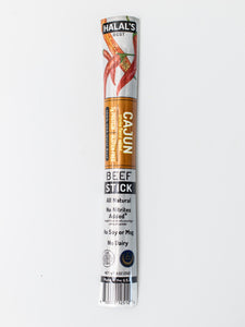 Halal's Best Cajun Beef Stick in package, front view
