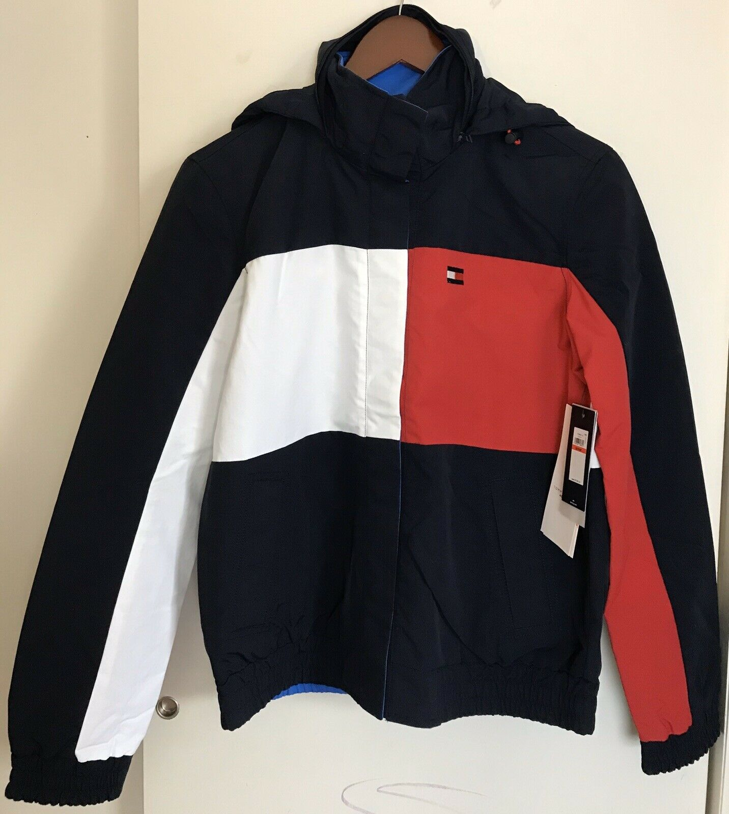 NWT! TOMMY HILFIGER Women's Reversible Jacket XS
