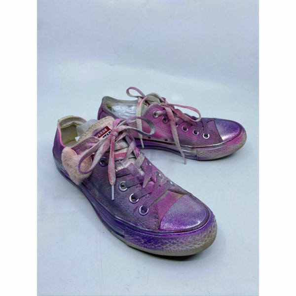 Converse Sneakers Customized with Multi Color Graffiti Women's Size 6.5