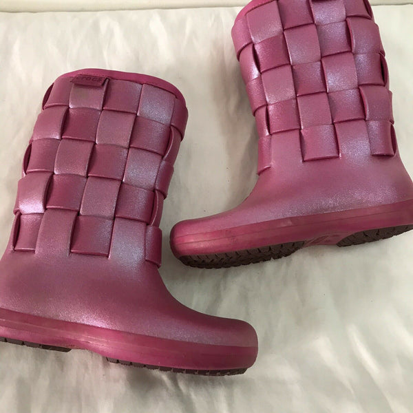 CROCS Rainboots Womens Size 5