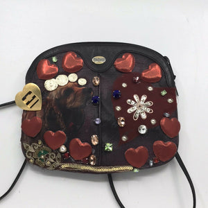 GUCCI Vintage Mini Crossbody w/ Customized Dog Best Friend Design