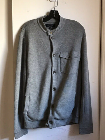 Rag & Bone Men's Grey Sweater XL
