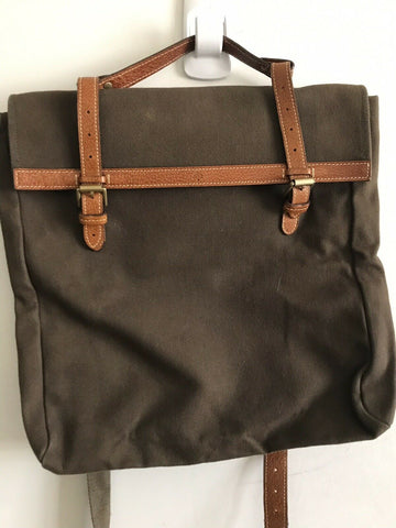 Mulberry Unisex Brown Canvas Messenger Bag